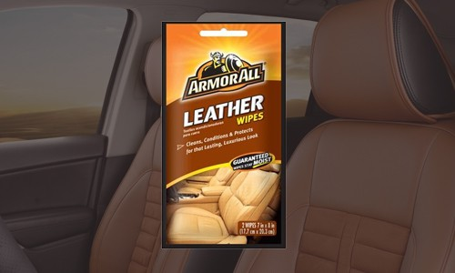 Carwash vending - Armour All Leather Wipes