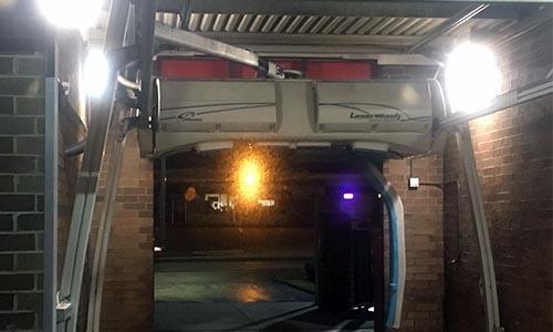 LED Car Wash Bay Lighting Setups