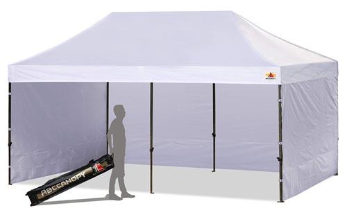 car wash detailing tent