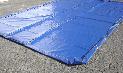 carwash water reclamation mat