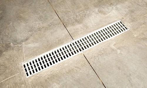 garage drain for detailing