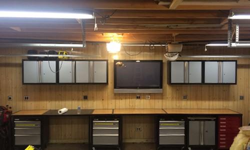 garage entertainment center