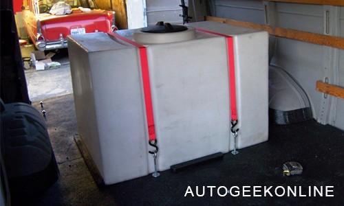 plastic mobile detailing tank