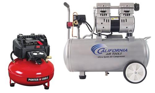portable detailing compressors