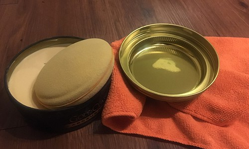 wax to prevent hard water spots
