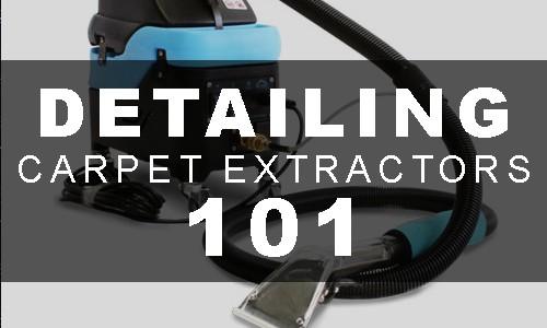 best detailing carpet extractors