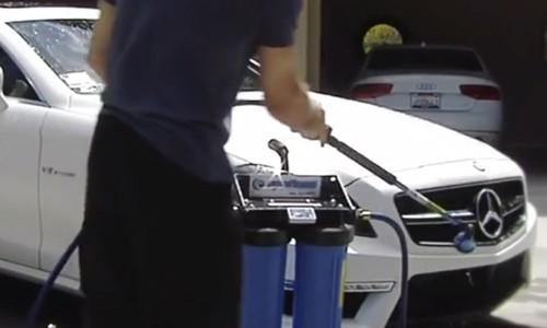 portable deionizer for washing your car