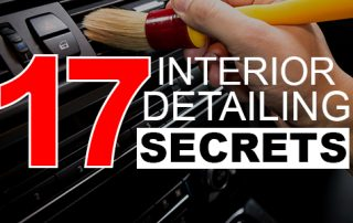 17 interior detailing tips for detailers