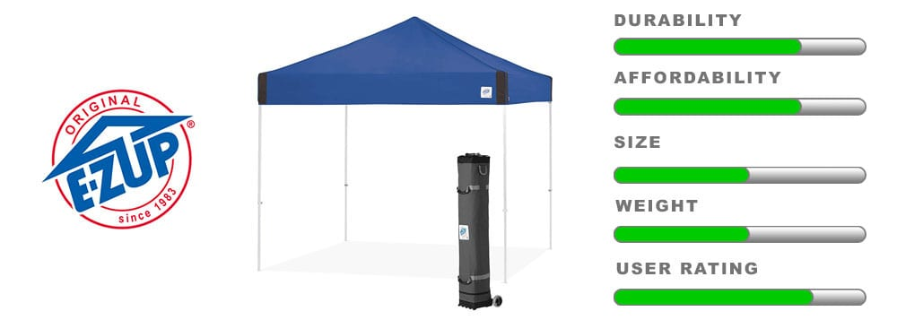 ez up pyramid instant shelter canopy