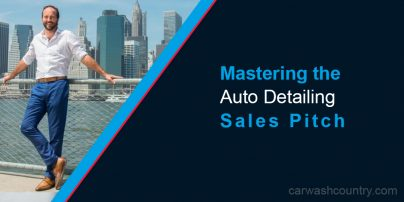 auto detailing sales pitch tips