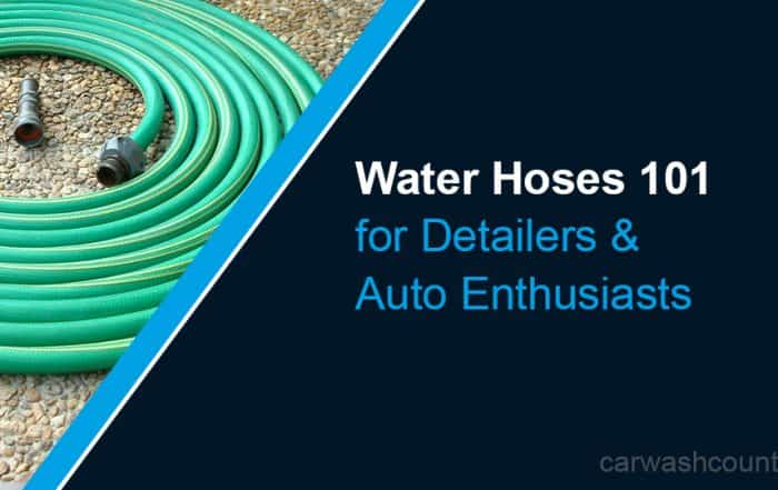 best water hoses for detailers washing cars