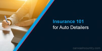 insurance for auto detailers