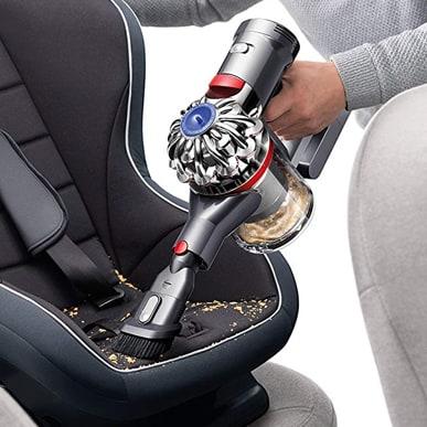 DIY interior car cleaning