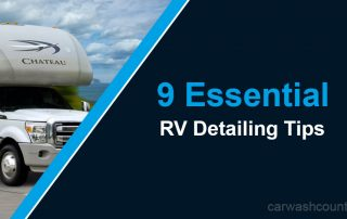 RV detailing tips for washing an RV
