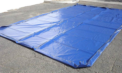 water containment mat