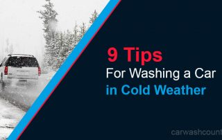 9 tips washing car in winter weather freezing