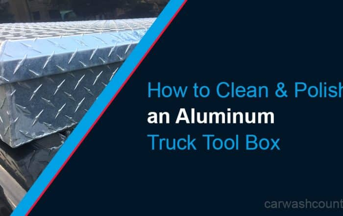 How to Clean Polish or Shine Aluminum Truck Tool Box