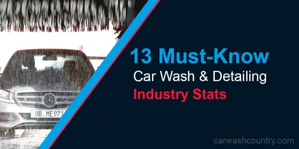 auto detailing and car wash stats