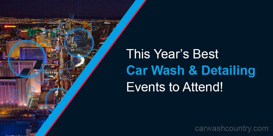 best car wash detailing trade shows