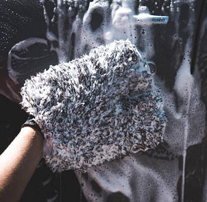 Adam's Non-Scratching Microfiber Wash Mitt