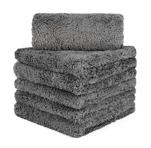 CARCAREZ Edgeless Microfiber Towels