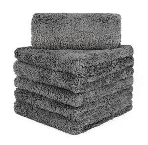 CARCAREZ Edgeless Microfiber Towels