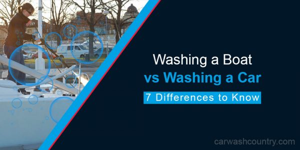 washing boat vs car 7 differences