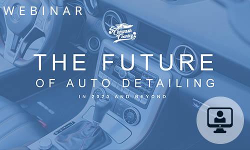 Future of Auto Detailing Webinar image