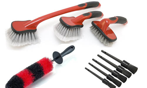 brushes to clean inside of rim