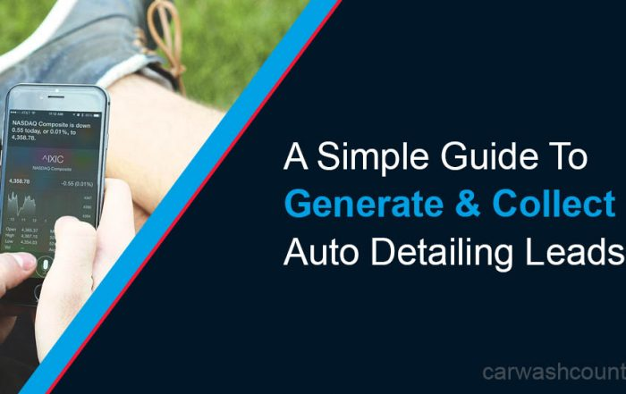 generate and collect more auto detailing leads