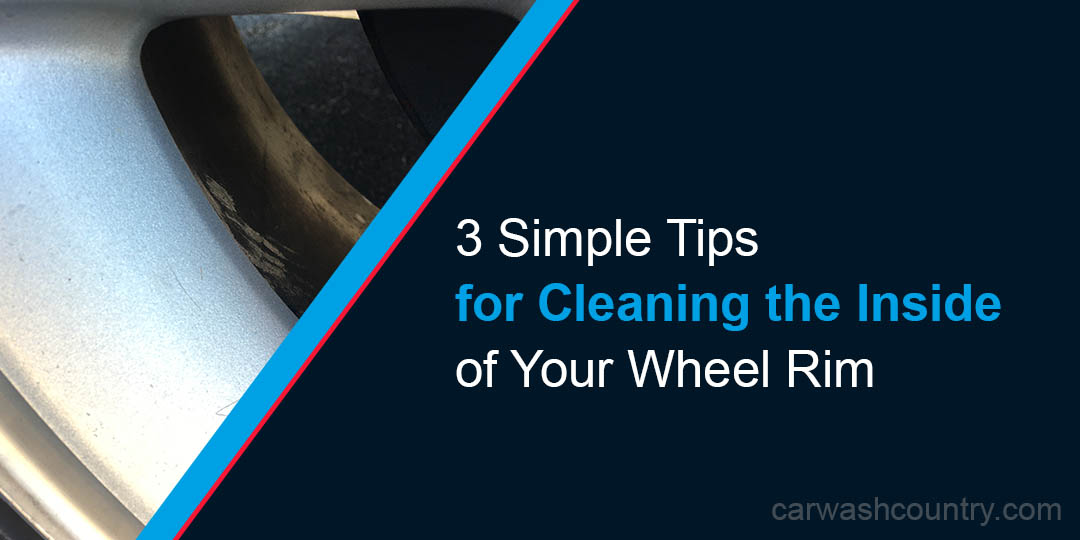 tips for cleaning inside of wheel rim
