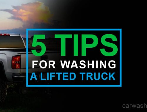 5 Simple Tips for Washing a Lifted Truck