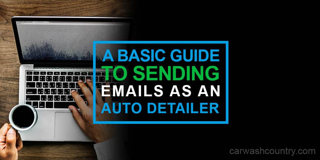 sending emails auto detailer